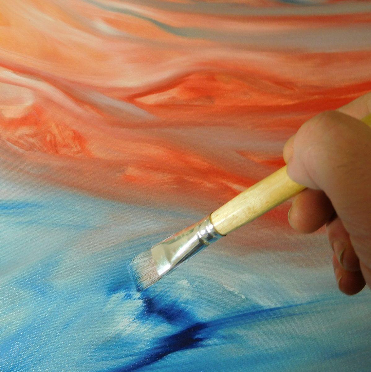 Ispirazioni, idee. Quadri da arredamento dipinti a mano in esemplare unico.