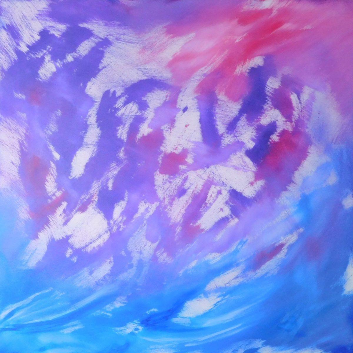 Essence, quadro acrilico su tela 02