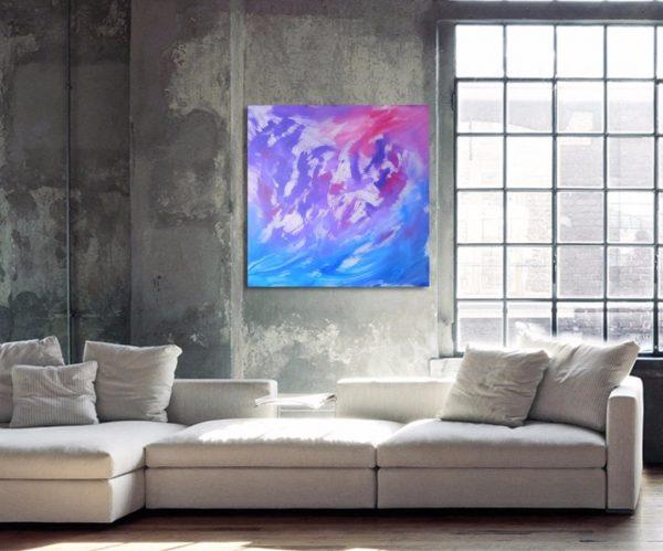 Essence, quadro acrilico su tela 06