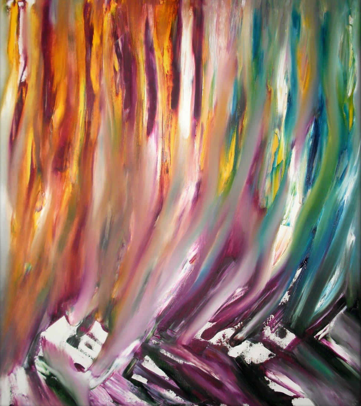 Fiumi di porpora, arte contemporanea by Davide De Palma