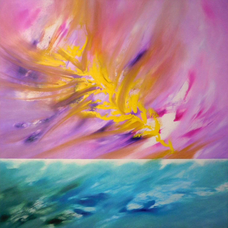 Narciso 1 2016 80x80 olio_-min quadro moderno