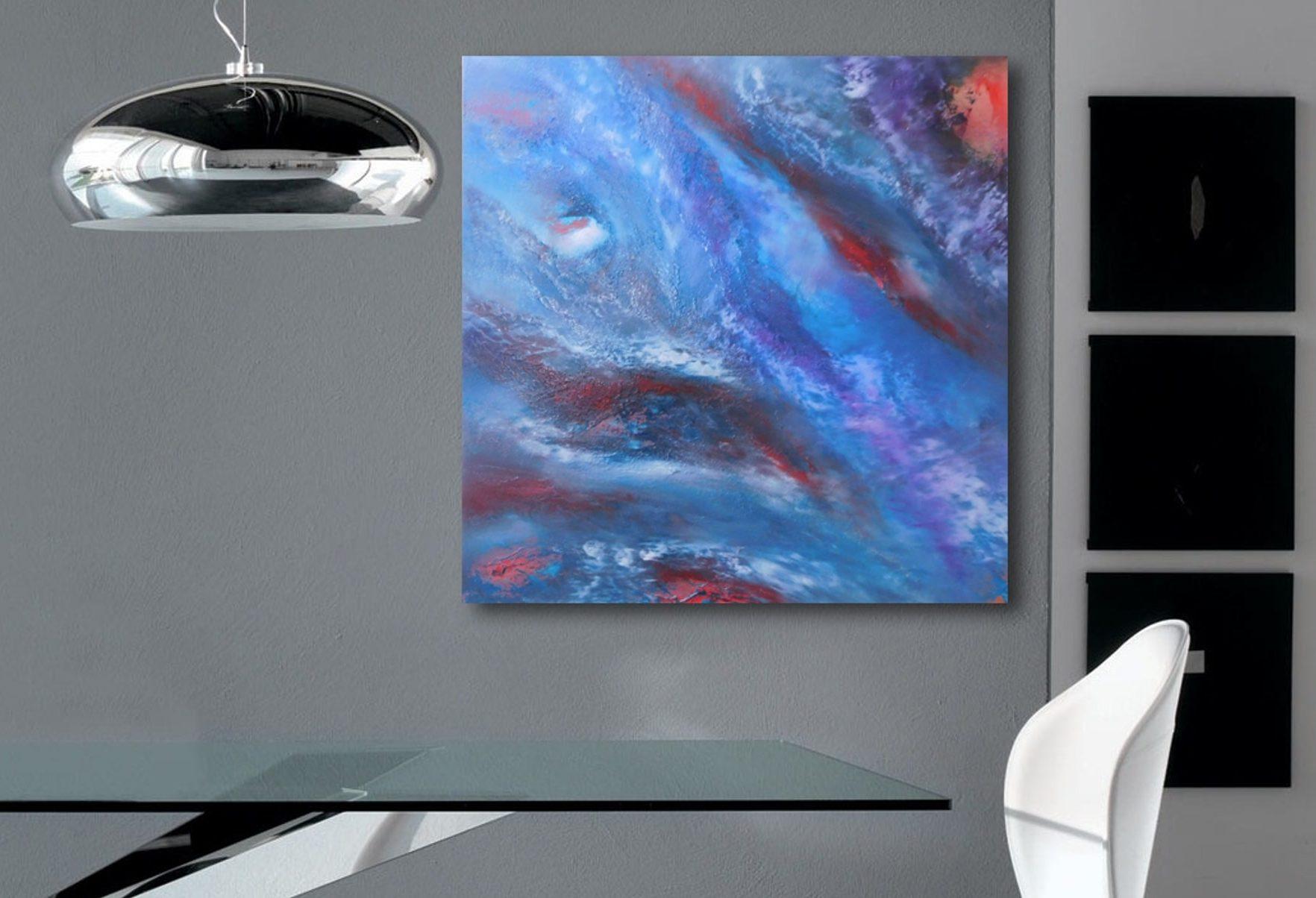 Nebula, olio su tela by Davide De Palma