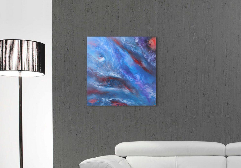 Nebula olio su tela 09b-min