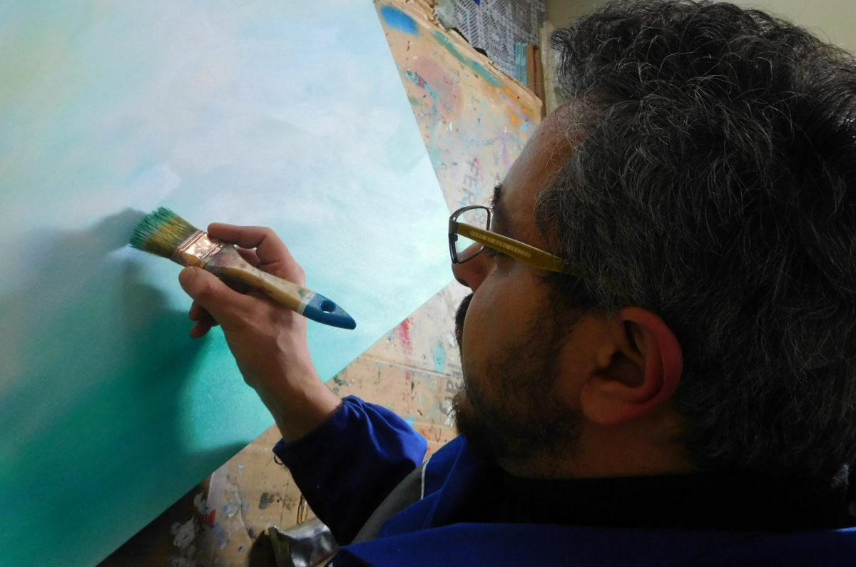 Contemporary Artist Painter Davide De Palma
