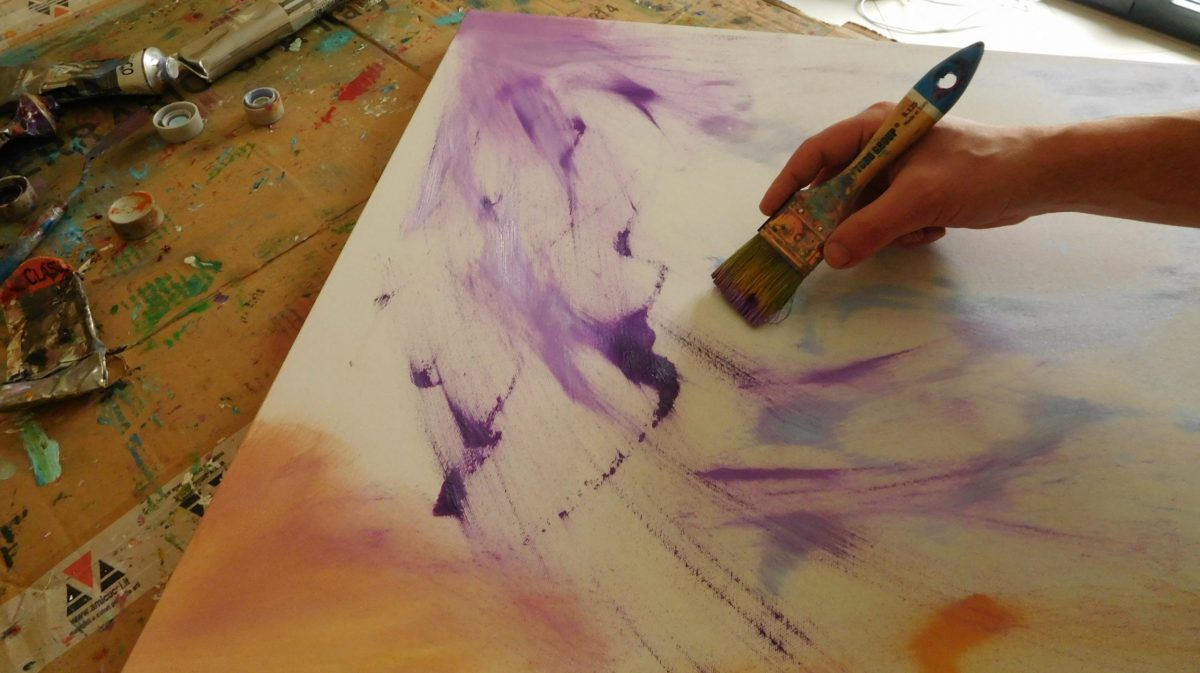 Artista pittore contemporaneo Davide De Palma