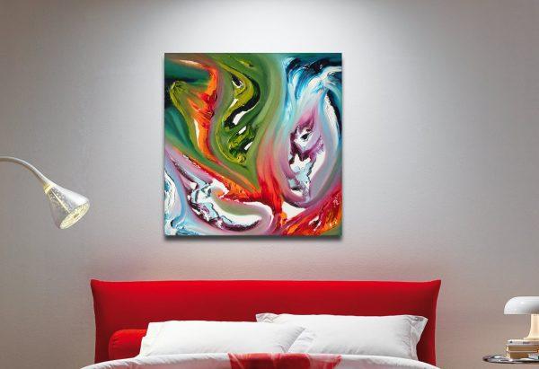fire's clash, quadro moderno 04