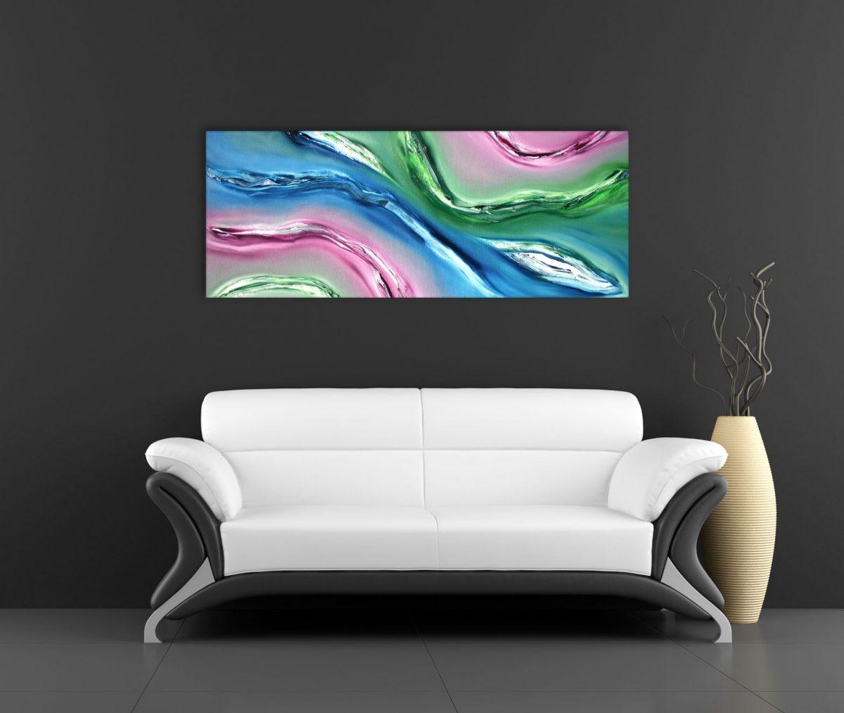 Fluido quadro moderno 01