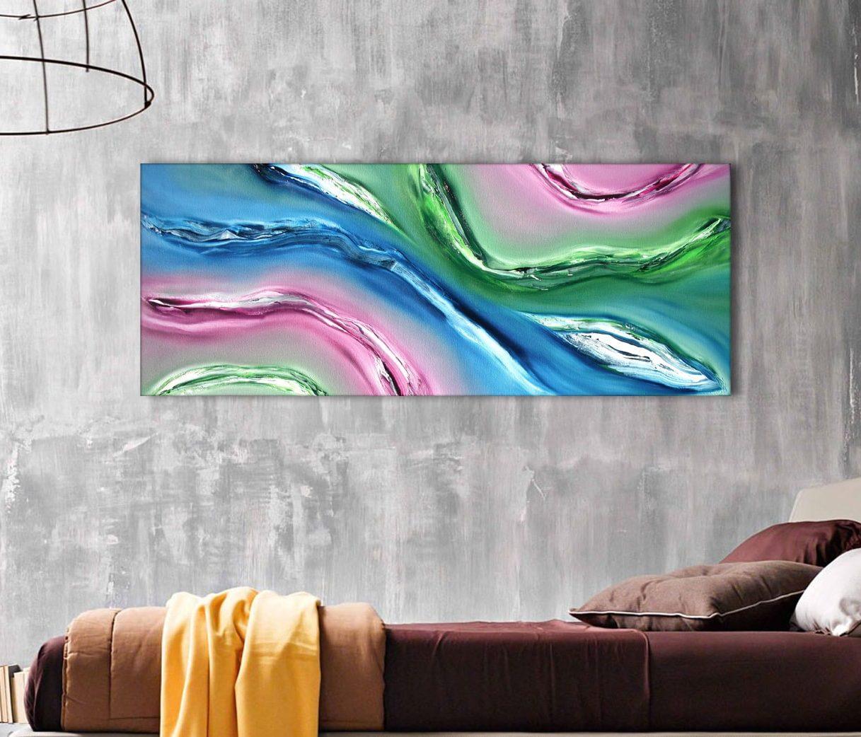 Fluido quadro moderno by Davide De Palma