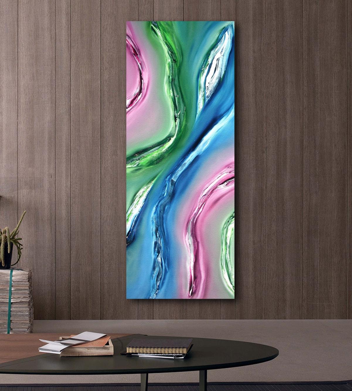 Fluido quadro moderno 03