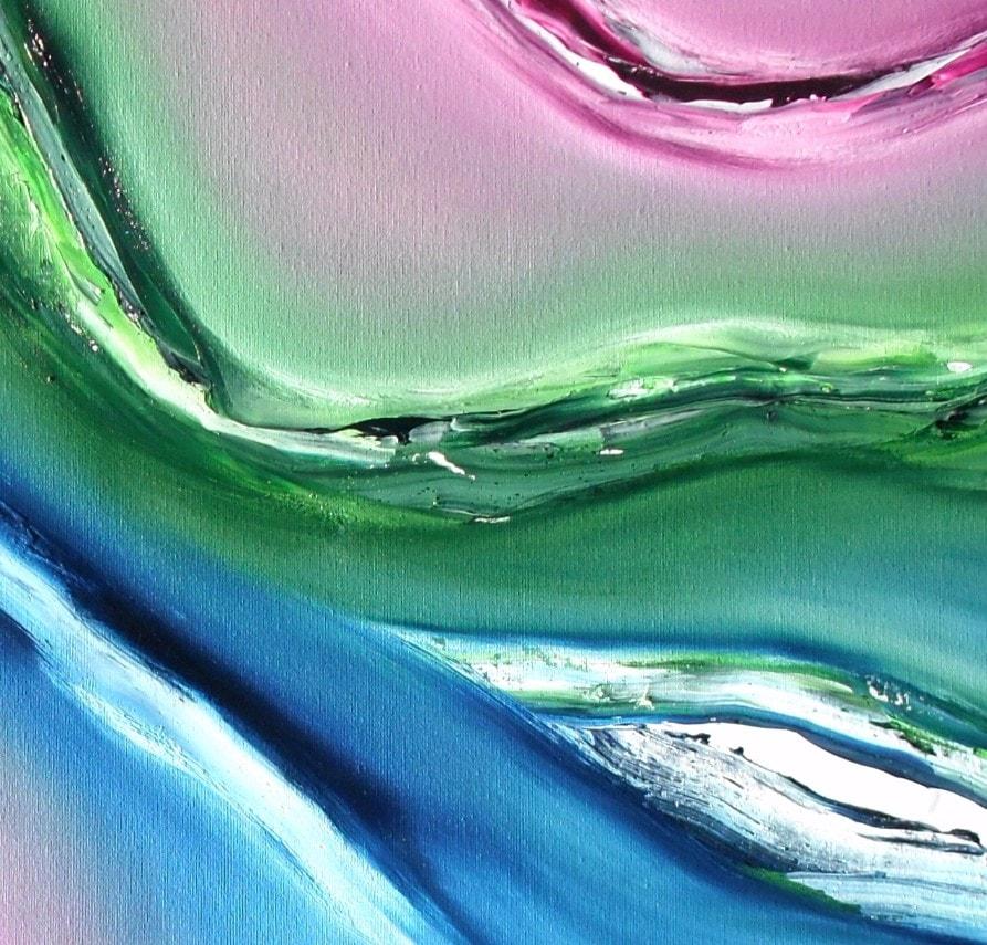 Fluido quadro moderno 04