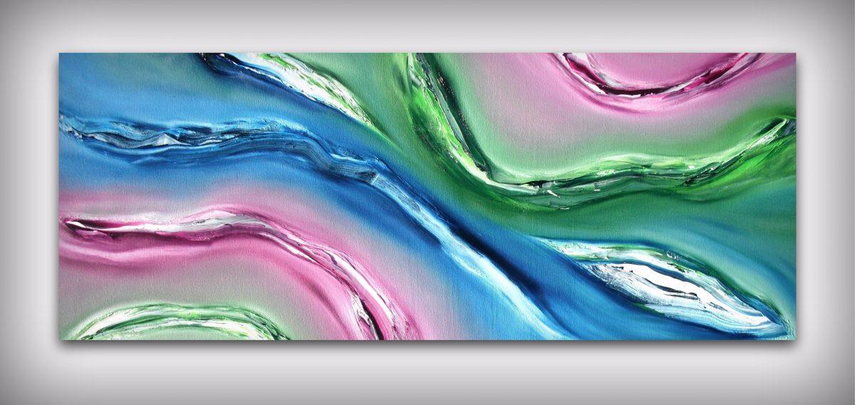 Fluido quadro moderno 05