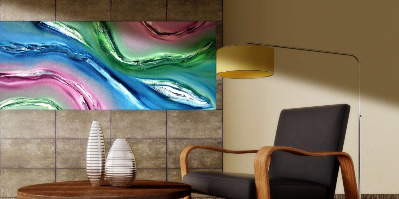 Fluido quadro moderno 07