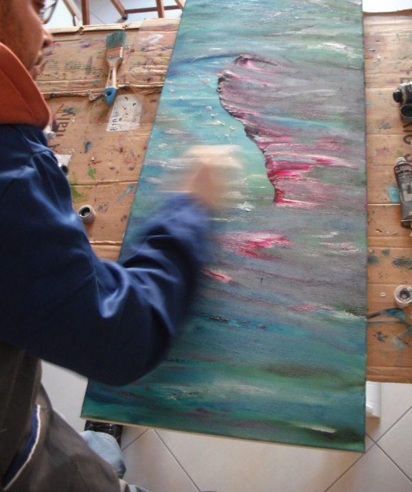 impressionist quado astratto by Davide De Palma
