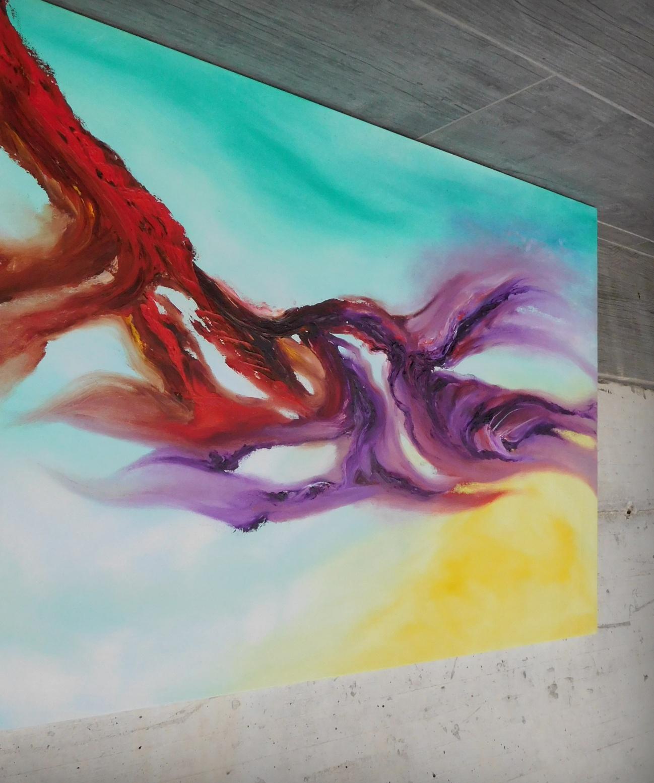 delight of fly dipinto originale astratto in vendita online