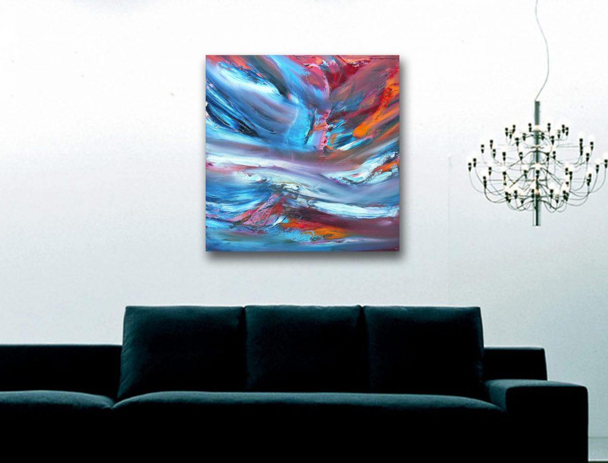 Kaos 50x50 cm quadro moderno astratto in vendita online