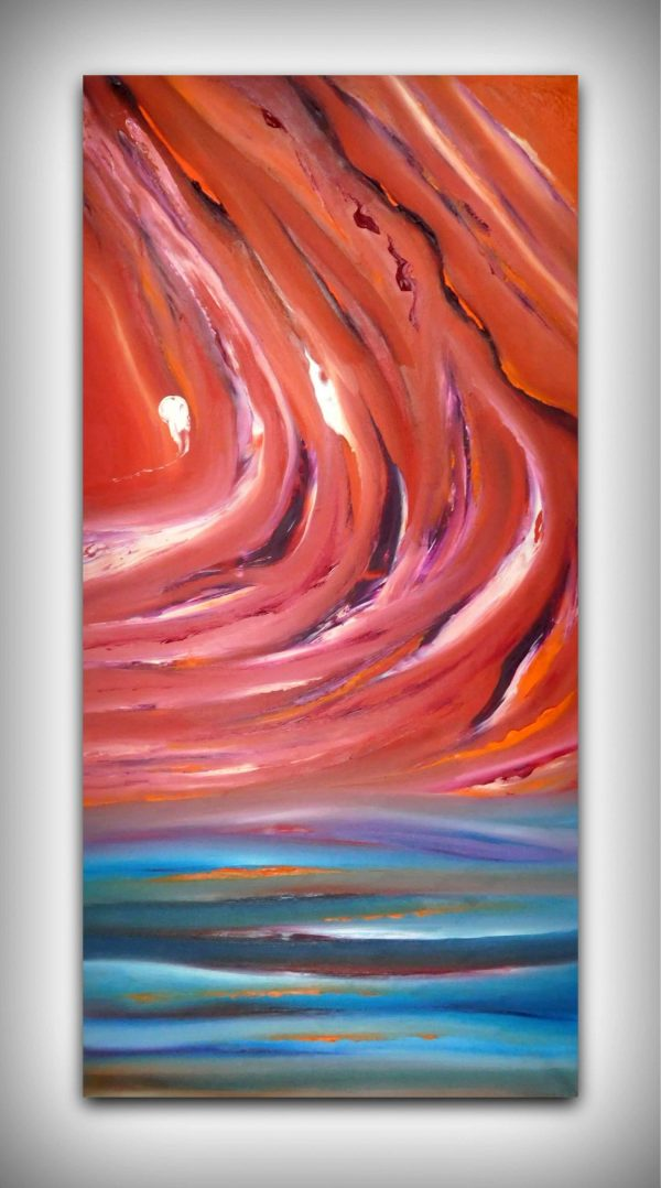 karma 40X80 dipinto astratto