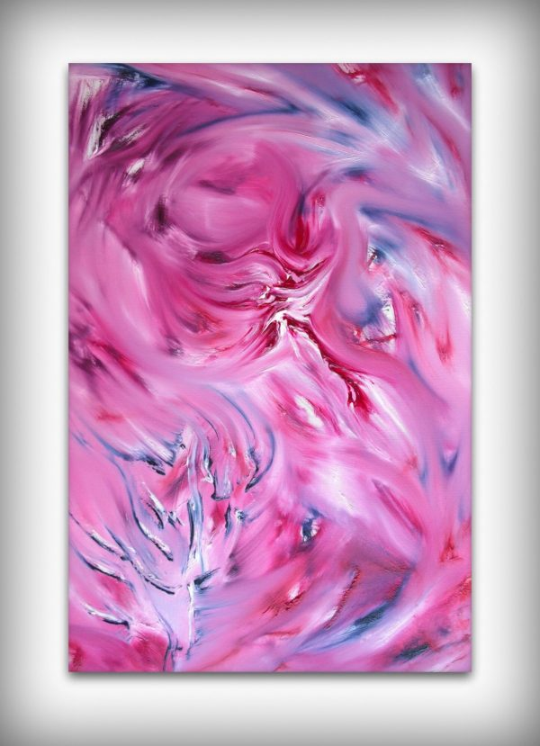 Rosa senza spine, quadro astratto