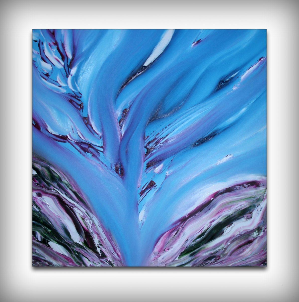 Sinuoso tormento dipinto originale in vendita online