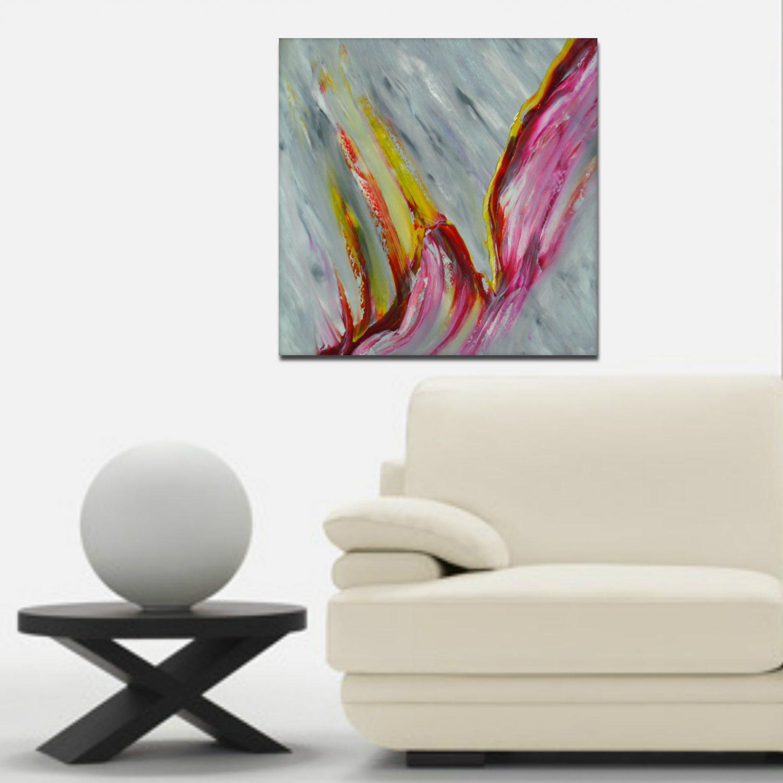 Tangerine 50x50 dipinto originale in vendita online