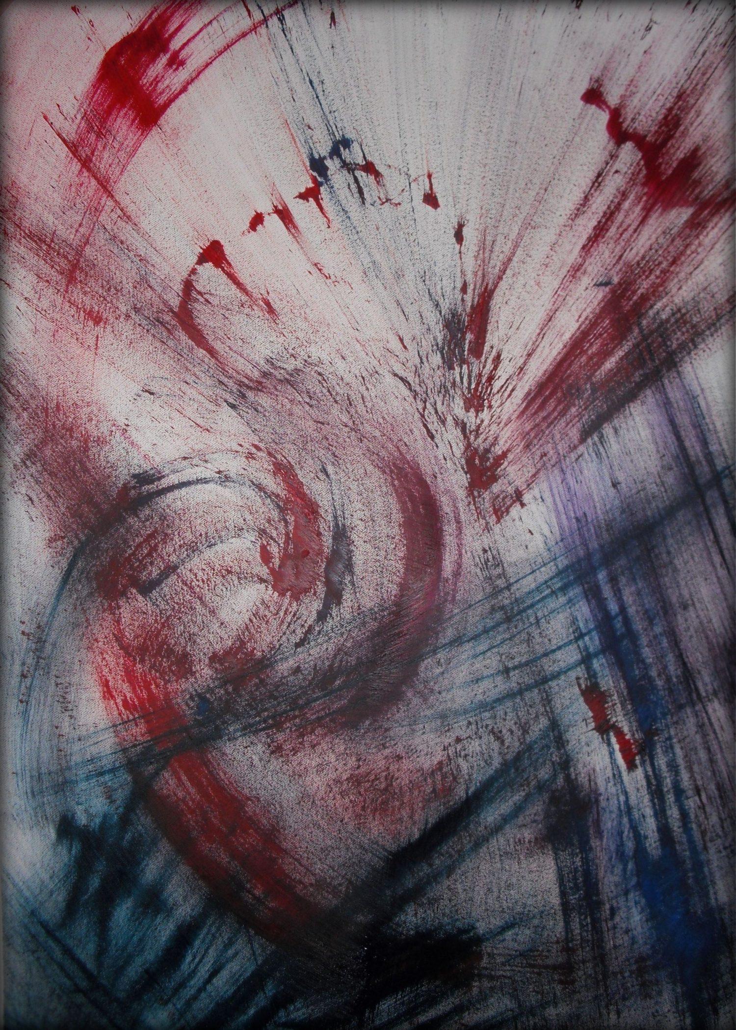 sangue che danza 2011 50 x 75