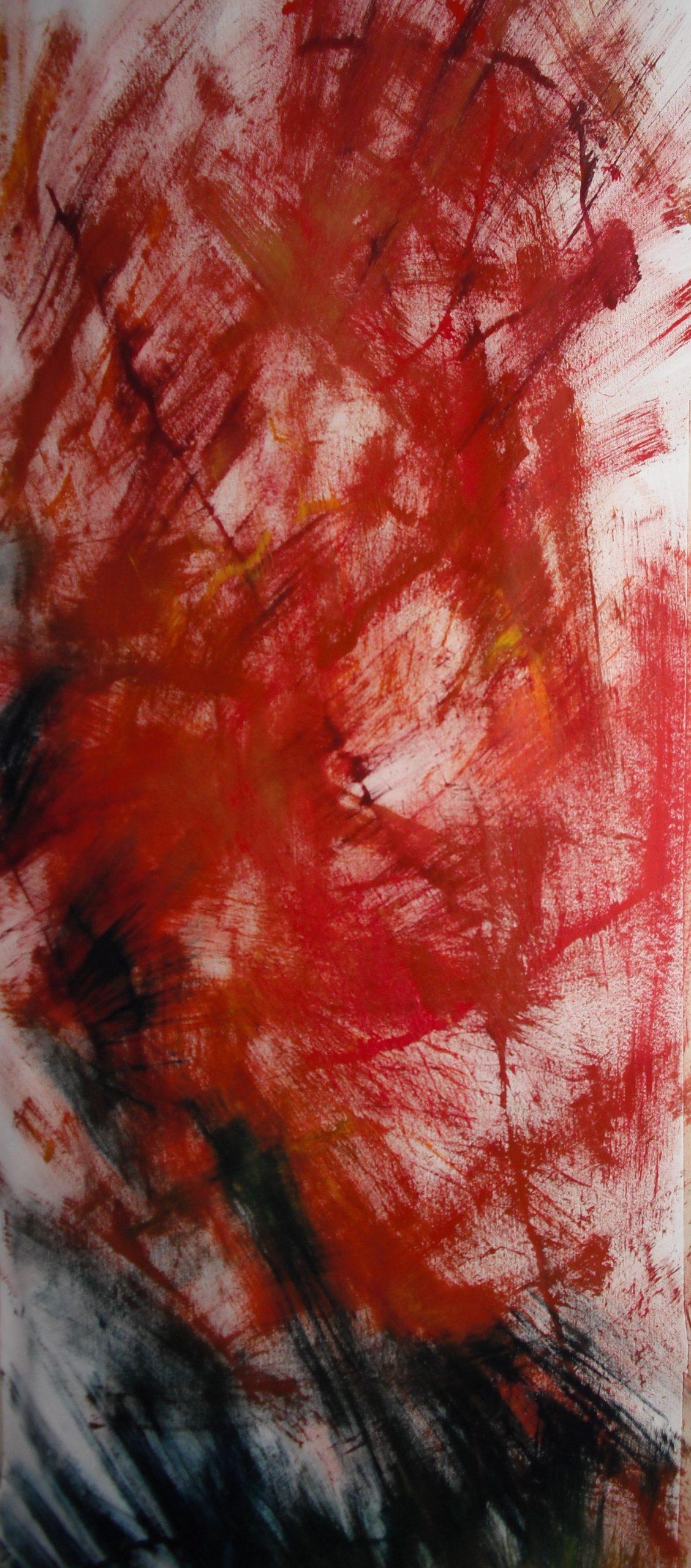 Senza titolo 2011 - 80 x 150 - olio su tela_quadro originale