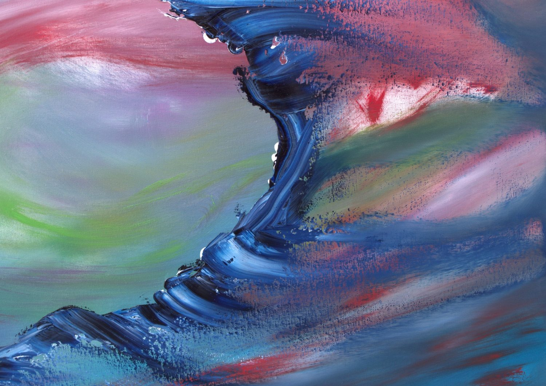 Abyss_100x70 quadro dipinto originale astratto