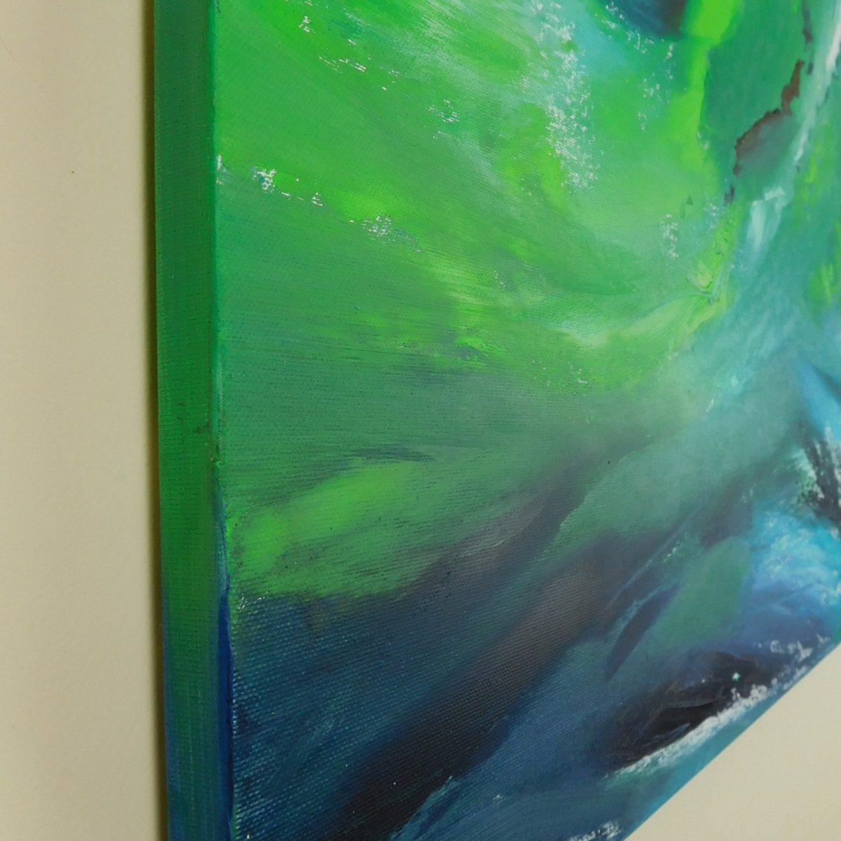 Coll night II - 70x50 - 2017 - olio II_dipinto moderno astratto