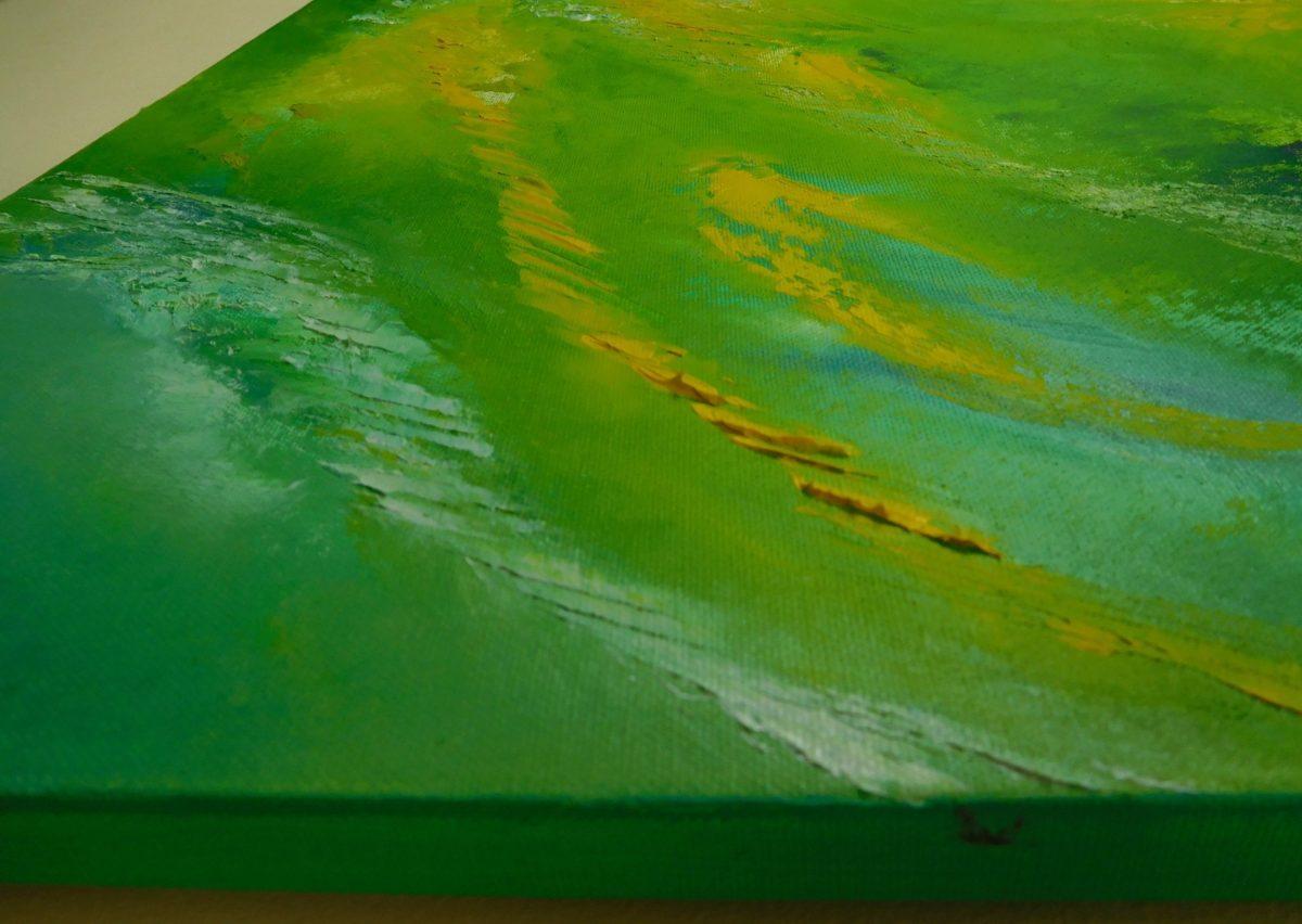 Cool night III _dipinto moderno astratto