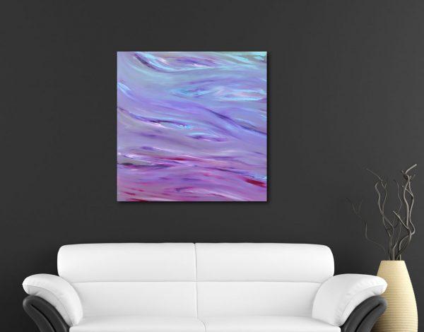 Glare 50x50 2016 olio dipinto moderno astratto