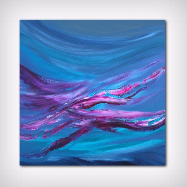 Revolving time II_quadro dipinto originale astratto