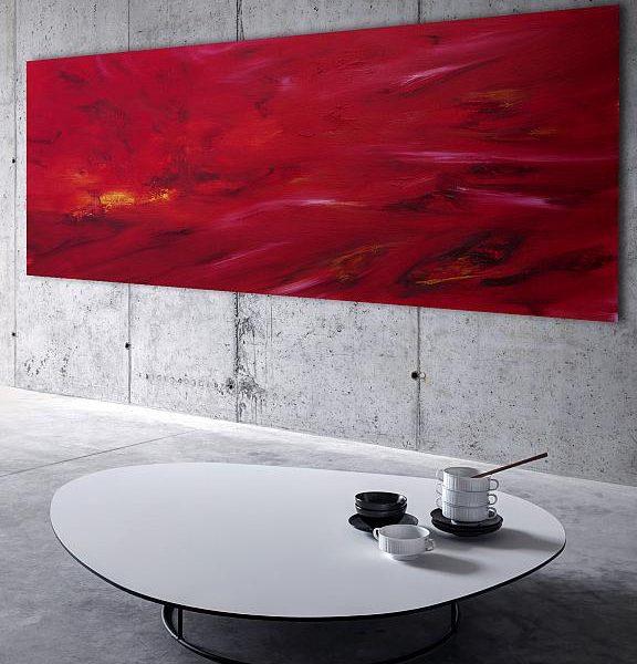 dipinto-quadro-languido-fuoco-spedizione-gratuita-moderno astratto