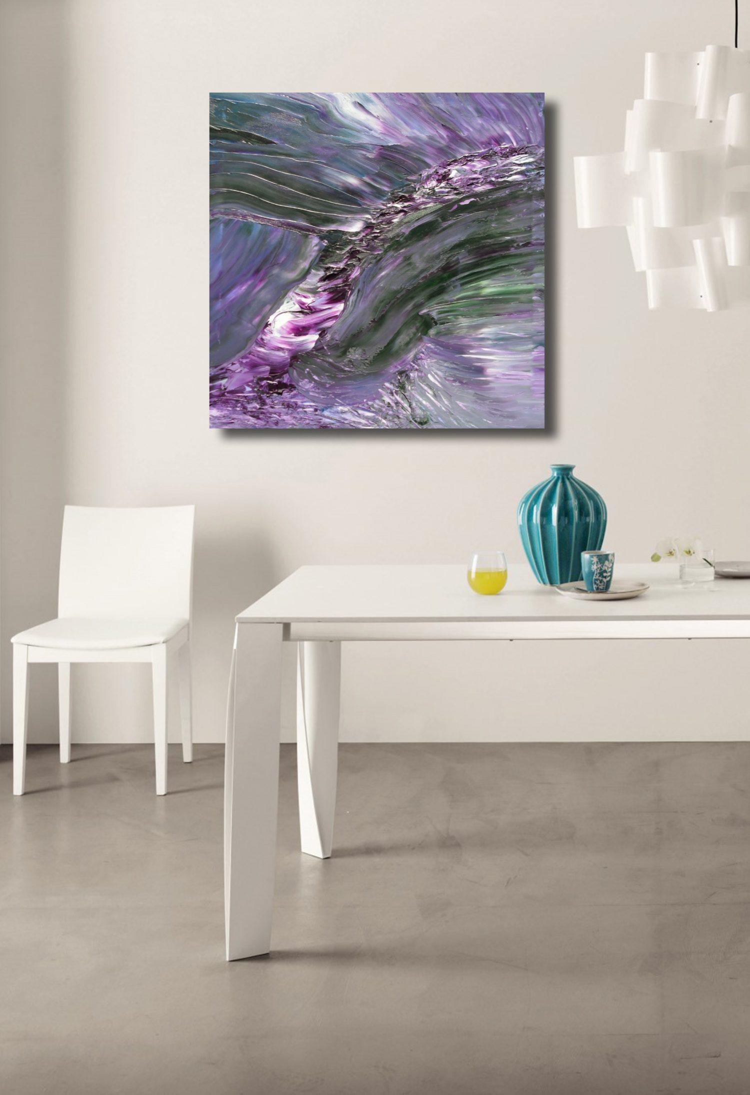 mantra dipinto moderno astratto