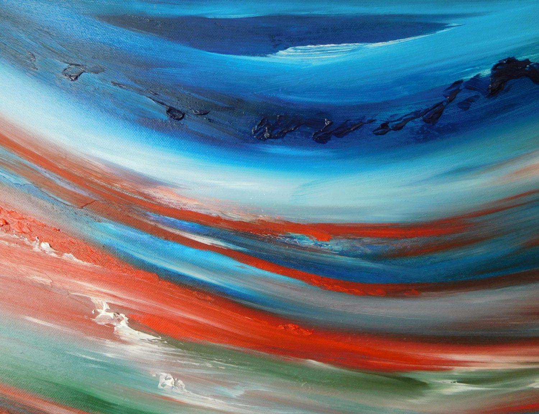 somewhere whenever 2016 50x70 olio dipinto moderno astratto