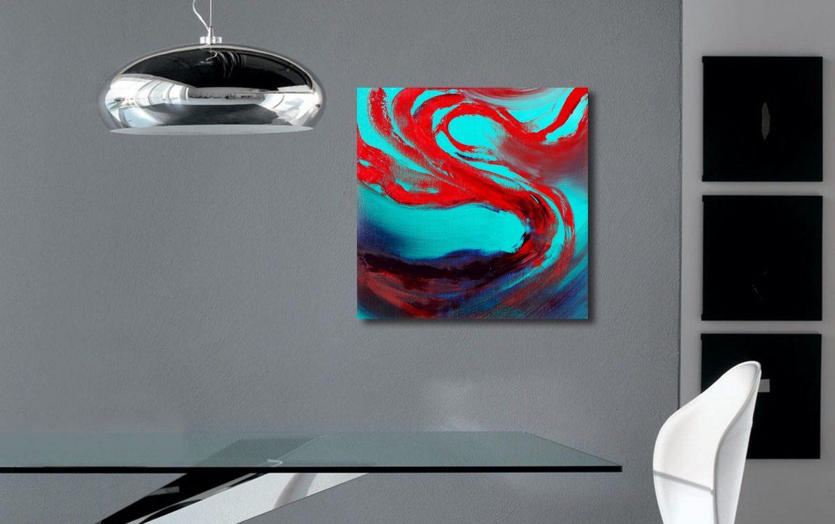 Oblivion IV quadro dipinto originale astratto in vendita online