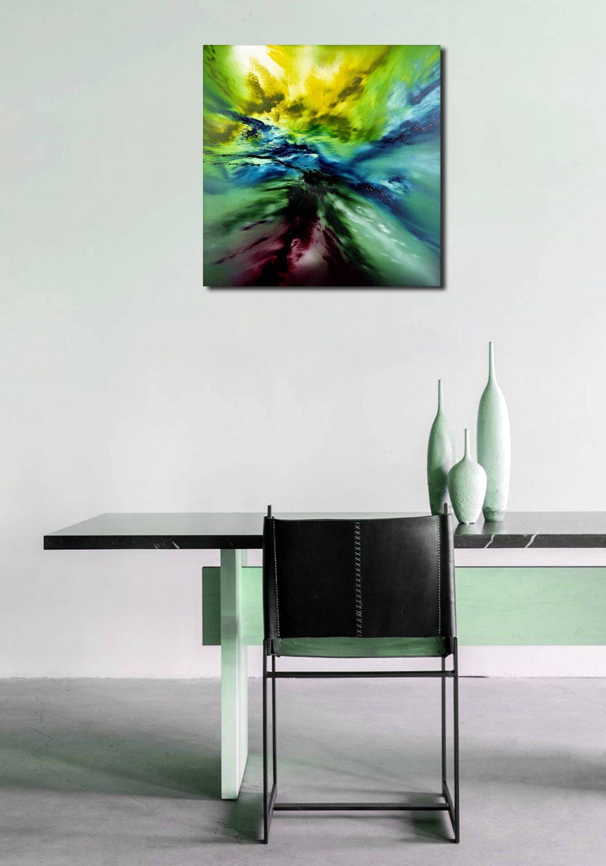 Deepest forest 60x60 dipinto originale in vendita online