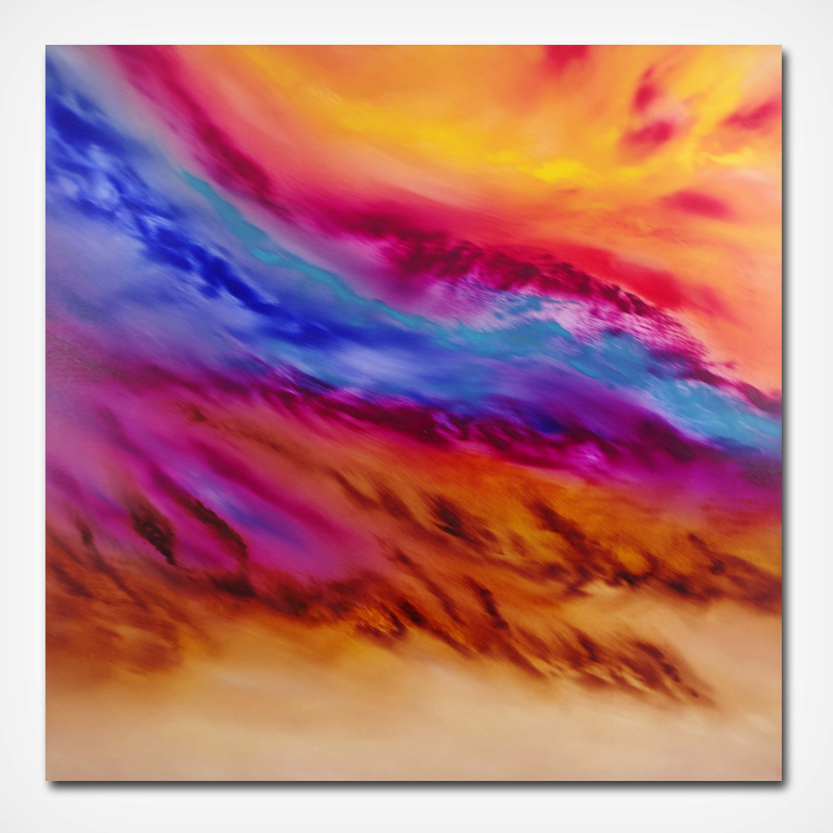 Le blè au vent 01 2017 80×80 oil_B – Copia