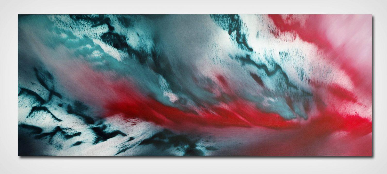 Last night 100x40 quadro astratto in vendita online