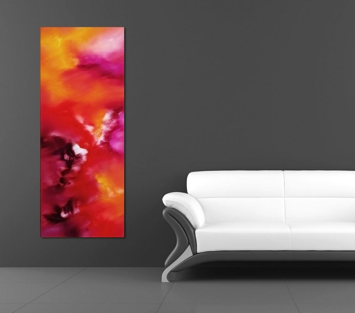 Le vie della seta 40x100 quadro astratto in vendita online