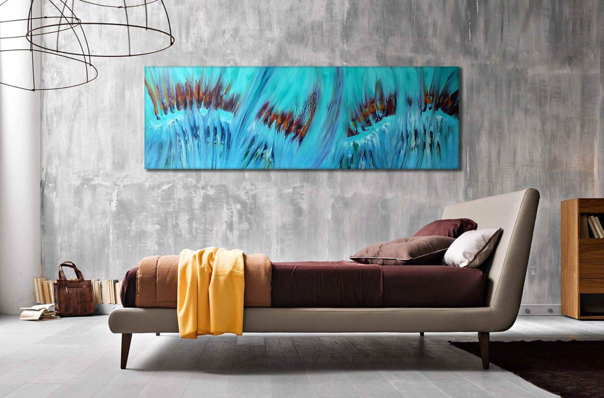 Spring dipinto astratto moderno