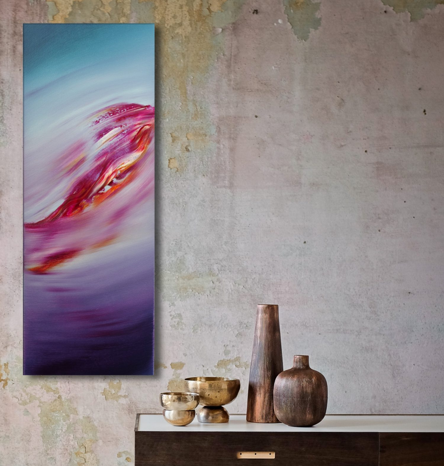 Immensity II quadro dipinto originale astratto in vendita online