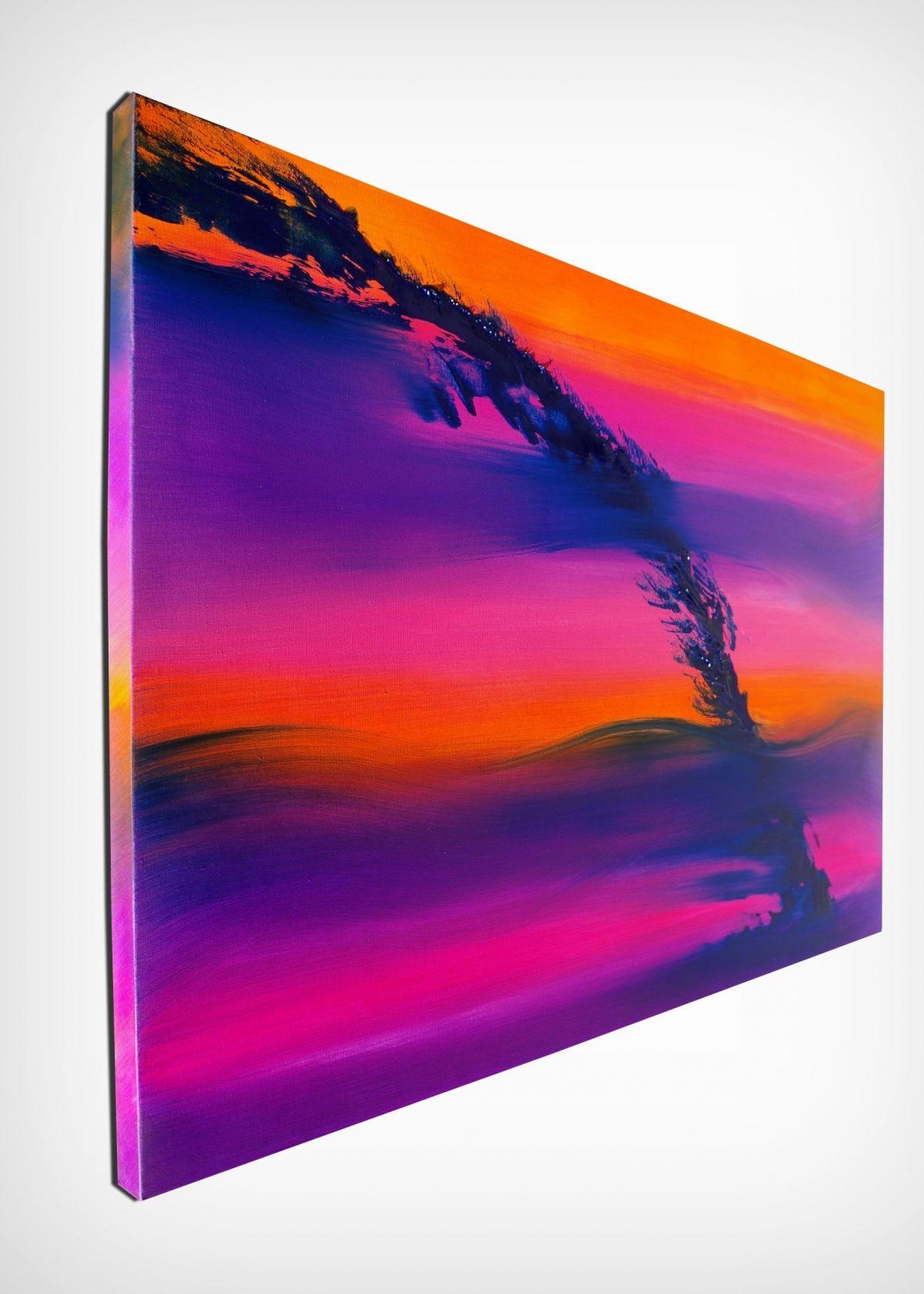 Skyline II 100x70 quadro dipinto originale astratto in vendita online