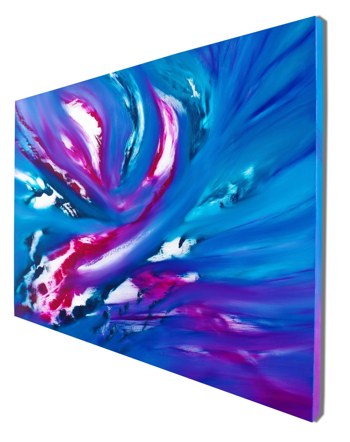 Blue Sky II 100x70 quadro dipinto originale astratto in vendita online