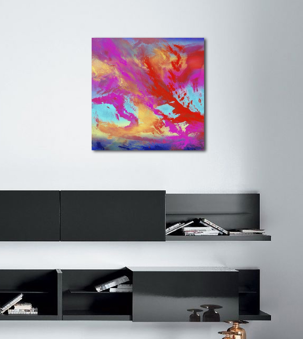 Endless 60X60 quadro dipinto originale astratto in vendita online