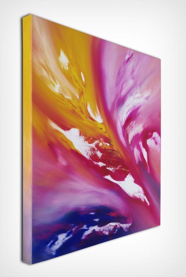 Fairy tale IV 60x60 quadro dipinto originale astratto in vendita online
