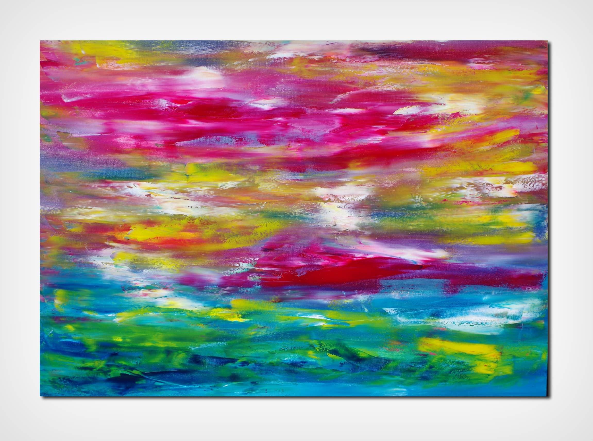 Ailve II 100×70 opera su commissione quadro dipinto moderno astratto in vendita online