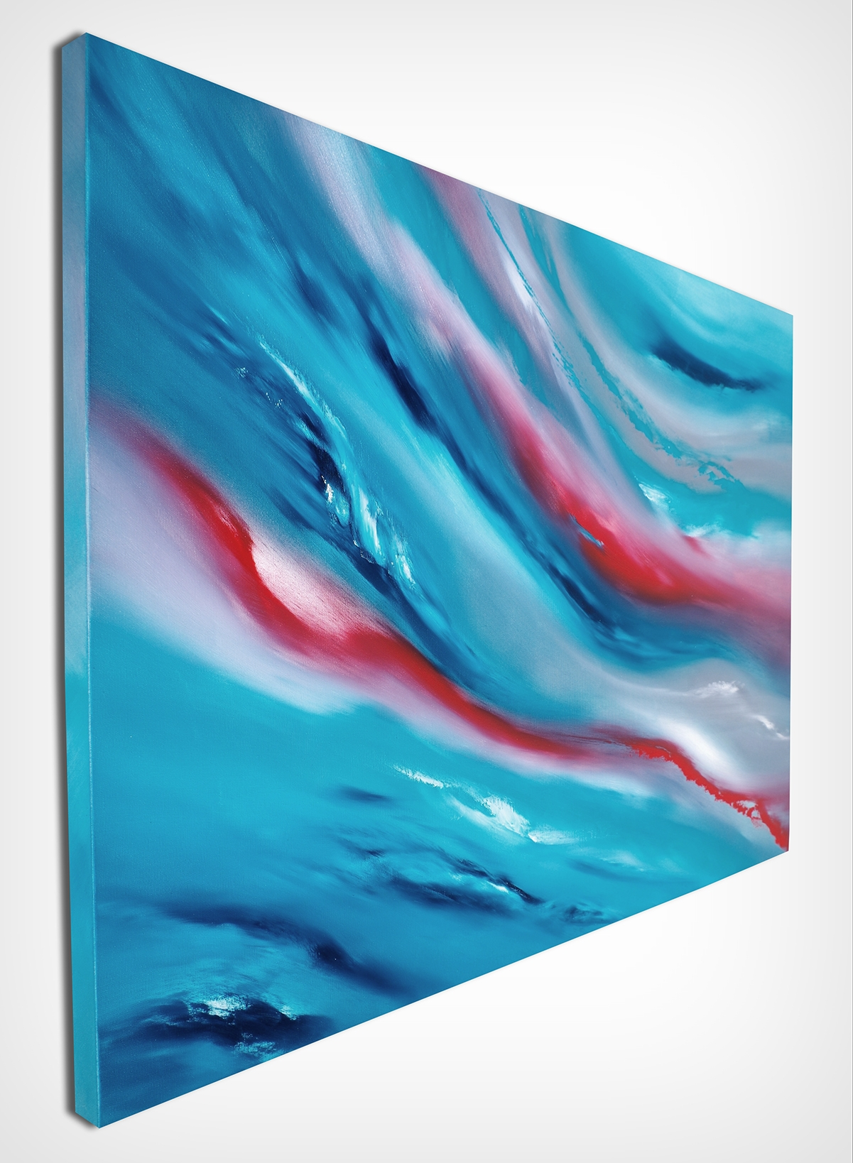 Blue Sky IiI 100x70 quadro dipinto originale astratto in vendita online