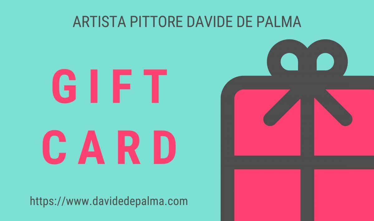 Gift card - Artista Pittore Davide De Palma
