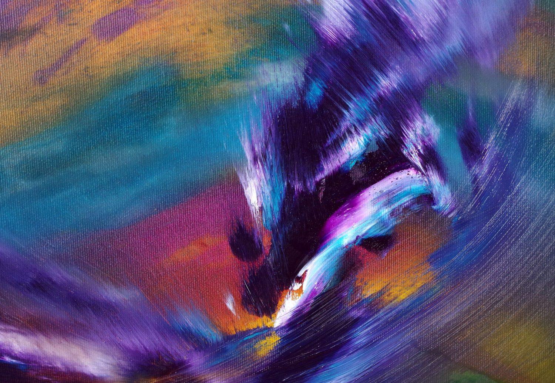 Angel on fire 60x60 quadro moderno in vendita online