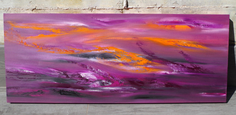 Turbolence 100×40 quadro astratto in vendita online