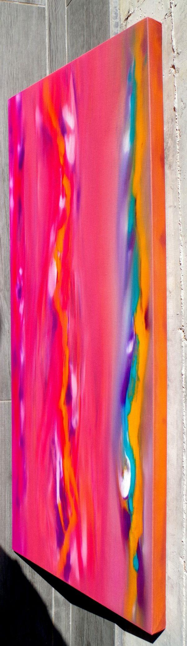 Sunset anomaly II 100x40 quadro astratto in vendita online